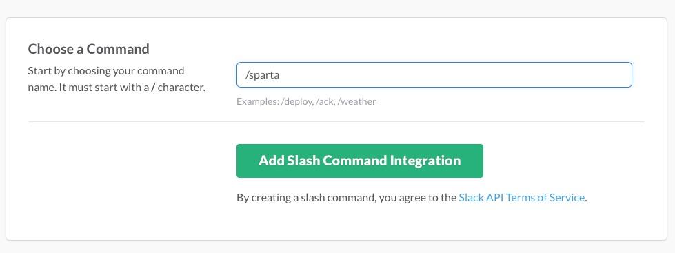 Slash Chose Command