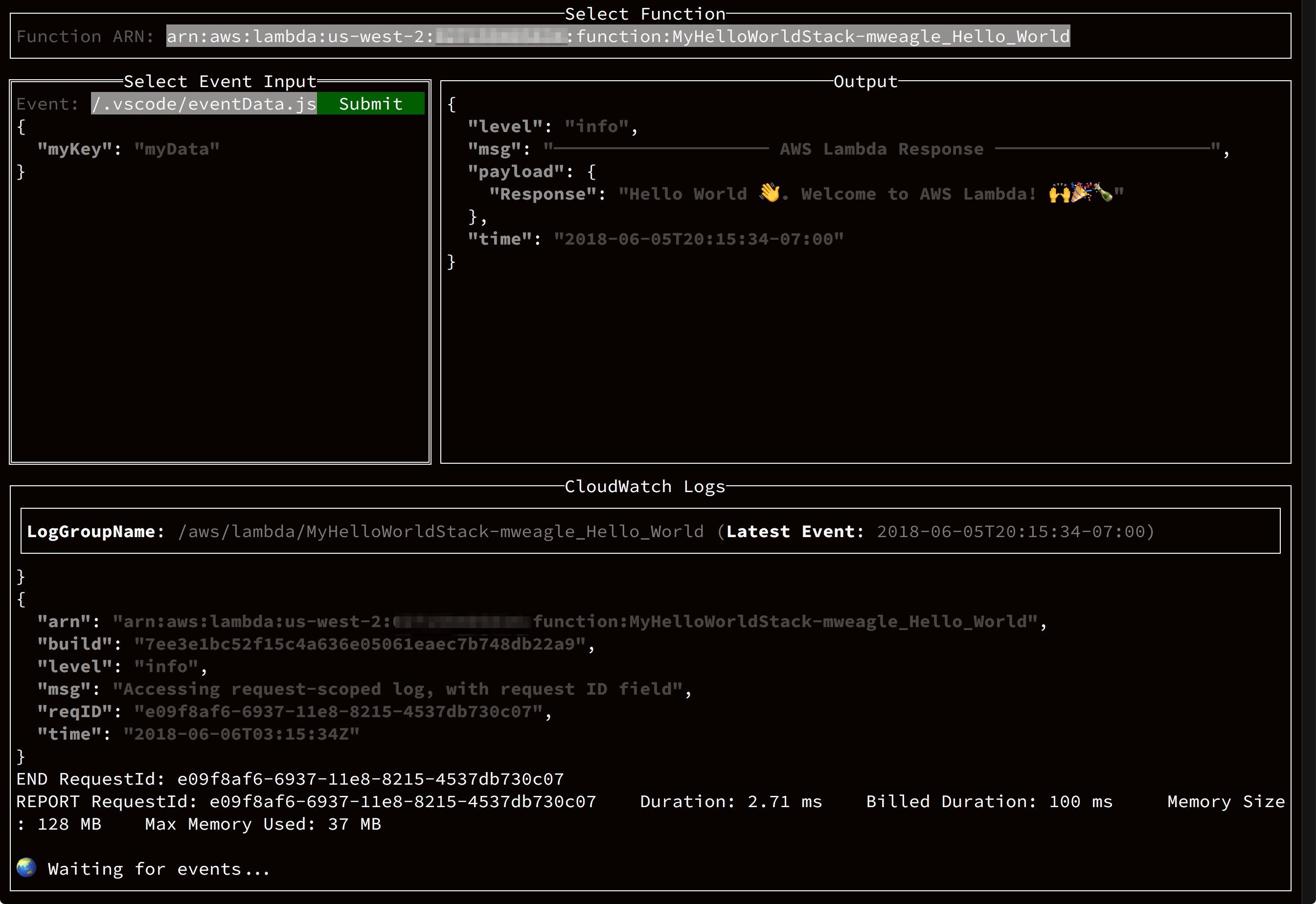 CLI Options :: Sparta - AWS Lambda Microservices